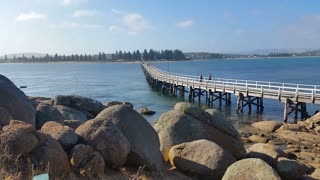 Granite Island, also known by the Ramindjeri people as Nulcoowarra, is a small island next to Victor Harbor