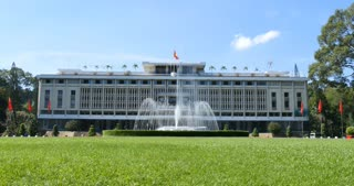 HO CHI MINH / SAIGON, VIETNAM - NOVEMBER 2015: Independence Palace