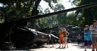 HO CHI MINH / SAIGON, VIETNAM - NOVEMBER 2015: Vietnam War Remnants Museum