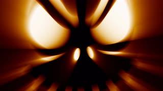 Horror Halloween jack-o-lantern evil spooky scary face