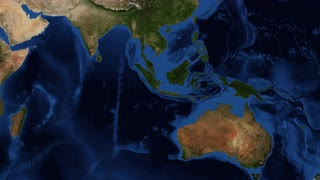 Indonesia from space - zoom Indonesia, officially the Republic of Indonesia, is a sovereign state in Southeast Asia and Oceania. Indonesia is an archipelago comprising thousands of islands: Sunda Islands, Borneo, Java, Sumatra,