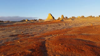 Lake Mungo Australian Outback Desert Landscape Sunset
