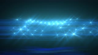 Light Blue Abstract Particle Effect Flashing Light VJ Background