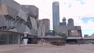 Melbourne City Victoria Australia - Federation Square