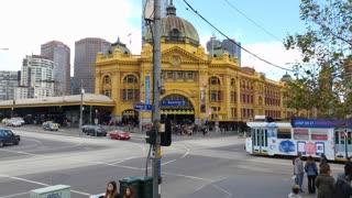 Melbourne City Victoria Australia - Flinders Street station