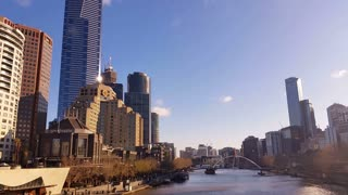Melbourne City Victoria Australia - Yarra River