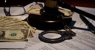 Money in judgment and justice in the court of law juridical system