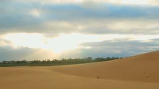 Morning sunrise sand dune desert outback Australia landscape