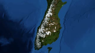 New Zealand from space New Zealand is an island country in the southwestern Pacific Ocean