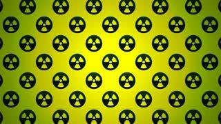 Nuclear Radioactive Radiation Symbol Logo