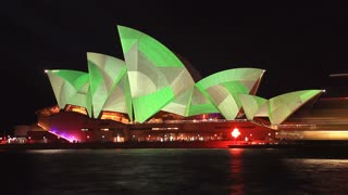 Opera House Sydney Harbour Australia - Vivid Light Festival