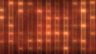 Orange Flashing Lights Background