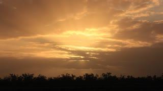 Outback Australia landscape sunset timelapse
