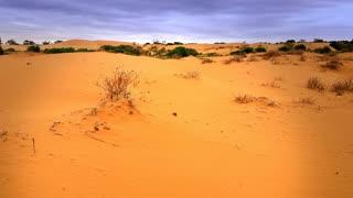 Red Desert Sand Dune Landscape Perry Sandhills
