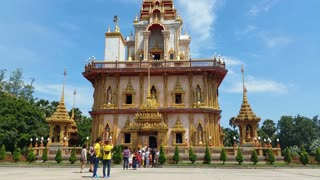 Thailand Buddhist Temple of Wat Chalong Phuket - Thailand Tourism