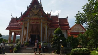 Thailand Buddhist Temple of Wat Chalong Phuket