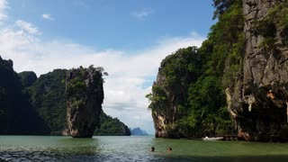 Thailand - Tropical Paradise of James Bond Island Phang-Nga Bay