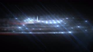 Title BG Abstract Particle Effect Flashing Light VJ Background