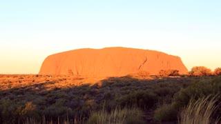 Uluru, Ayers Rock Timelapse Outback Australian Landmark