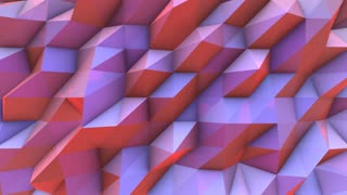 Background 3d render animation geometric abstract wall