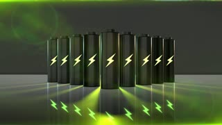 Battery for renewable energy electricity power storage and green batteries of th