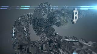 Bitcoin blockchain crypto currency digital encryption network world money