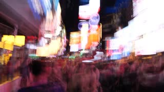 45949cff60fdd Driving through Times Square NYC in Slow Motion at Night in 4K Stock Video  Footage - Storyblocks Video