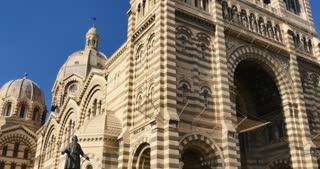 Cathedrale de la Major - Marseille port city southern France