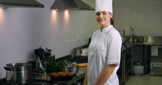 Chef occupation work in the cooking hospitality industry