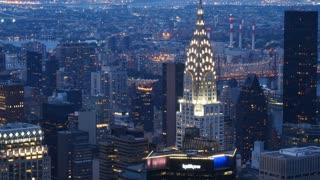 Chrysler Building New York city skyline of Manhattan