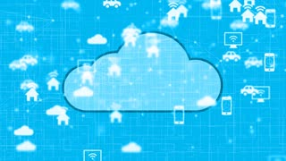 Cloud computing Internet of things IoT fintech safe online data storage