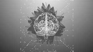 Computer brain mind design for AI artificial intelligence learning