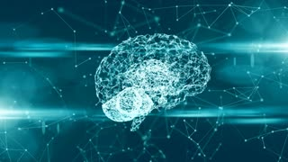 Computer brain thinking neural network AI artificial intelligence