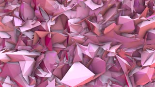 Conceptual background title intro 3d render motion graphic animation