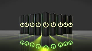 Conceptual electrical energy and power supply rechargeable battery