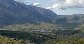 Crete Greece, Lasithi Plateau a high endorheic plateau on island of Crete