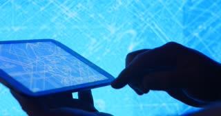 Development of infrastructure blueprint design on smart device