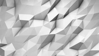 Distorted wall 3d rendered motion background animation