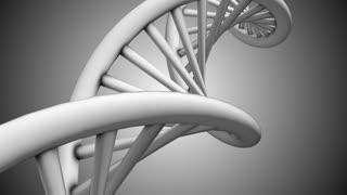 DNA double helix mitochondria molecule chemistry 3D render