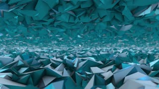 Futuristic pattern title intro background 3d render motion animation blue