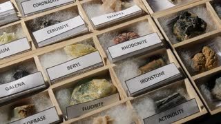 Geology Rock Mineral Collection Earth Science