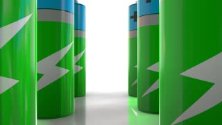 Green battery power with fast recharge source of green electricity