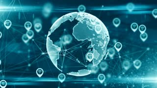 Location services and GPS IoT cloud computing data sharing global network