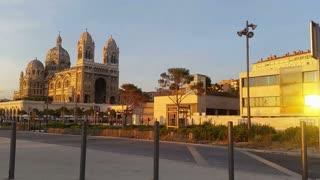 Marseille port city southern France - Cathedrale de la Major