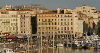 Marseille port city southern France european tourism destination