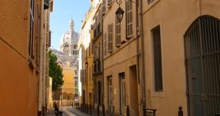 Marseille port city streets southern France european tourism destination