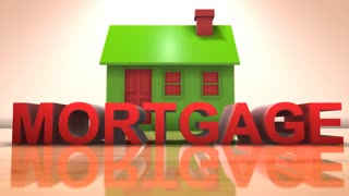 Mortgage title animation real estate investment housing property market
