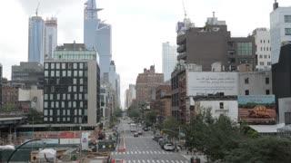 NEW YORK CITY - CIRCA 2018: Street timelapse Chelsea Manhattan