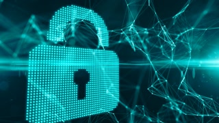 Online financial data encryption with blockchain to protect information