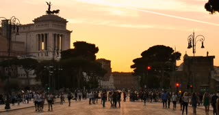 Rome Italy street afternoon
